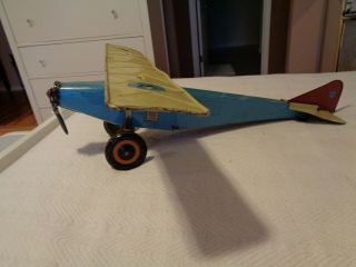 """Vintage Steel Craft """" The Right Plane """" No.  20 Airplane"""