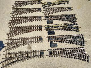 11 - 1/2 Lgb & Aristo Craft G Scale Switches Left & Right R3 22.  5° 1605 1615