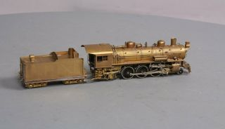Northwest Short Line HO BRASS N&W Pacific Class E - 2a 4 - 6 - 2 Steam Locomotive & Te 7