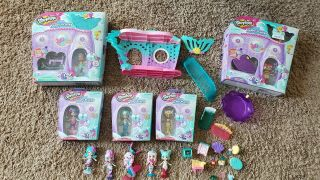 Shopkins Happy Places Mermaid Reef Retreat Day Spa Dive In Dining Playset Dolls