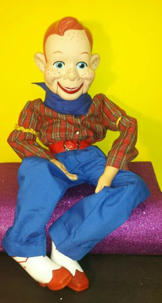 """Howdy Doody Ventriloquist Doll The Big One 30 """""""