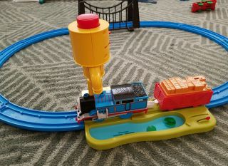 Tomy Trackmaster - Thomas The Train With Actual Steam (water Vapor) And Sound