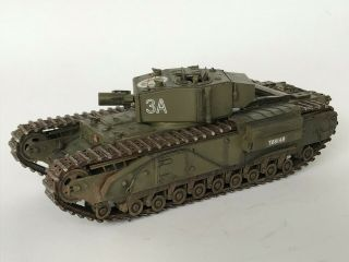 Ww2 British Churchill Avre,  1/35,  Built & Finished For Display,  Fine.