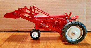 Vintage Tru Scale Tractor - Farm Toy With Front Loader