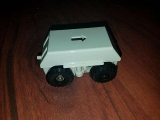Tomy Big Loader Thomas The Train - Motorized Chassis White 1977 - Tested/working