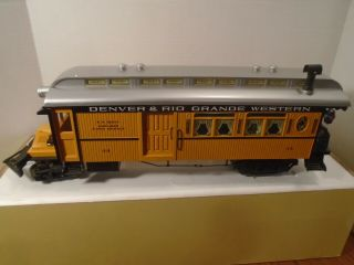Aristo - Craft G Scale 83100 D&rgw Classic Rail Bus Powered