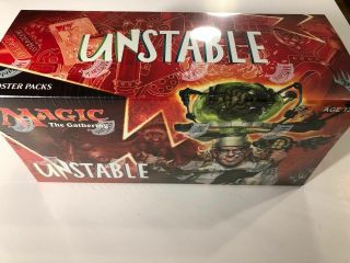 Magic The Gathering Unstable Booster Box Mtg Factory