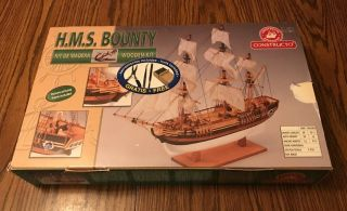 Constructo 1:110 H.  M.  S.  Bounty Wooden Model Kit