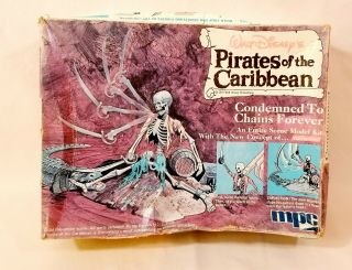 Mpc Disney Pirates Of The Caribbean Model Kit Condemned To Chains Forever