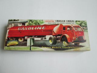 Very Early 1954 / 1955 Aurora 682 - 89 5000 Gallon Trailer Truck Ho Scale