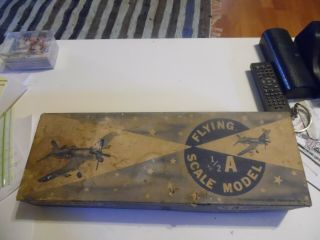 Consolidated Flying Scale Balsa Model Airplane Vought S.  Corsair