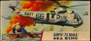 1/72 Airfix Models Sikorsky Sh - 3d Sea King Rescue Helicopter Nmib