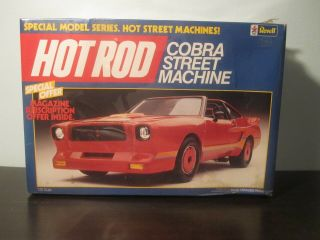 Revell Cobra Street Machines.  Special Model Series,  Hot Rod Street Machines.