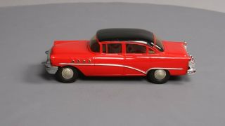 Amt 1955 Buick Cherokee Red/black Roadmaster 4 - Door H/t Dealer Promo Car