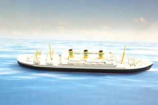 "Cm 180 Statendam 3 7 "" Lead Ship Model 1:1200 - 1250 Miniature High Detail N23"