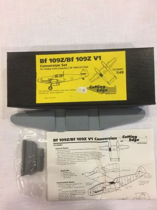 Cutting Edge 1/48 Bf109z/bf109z V1.  Conversion Set