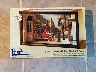 Vintahe Tonka Dioramas Four Alarm Call The Model T
