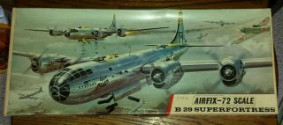 Airfix 1/72 Boeing B - 29 Superfortress.  1st Issue 1966.