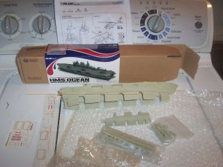 1/700 Scale Resin British Helicopter Carrier Hms Ocean.
