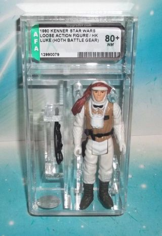 Star Wars Vintage 1980 Esb Hoth Battle Gear Luke Skywalker Coo Hk Afa 80