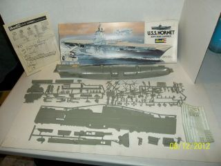 Revell Uss Hornet Anti - Sub Carrier 5003 Scale? Model Kit Y54