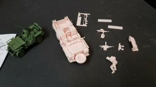 Built By Award Winning Modeler 1/35 Tamiya Sas Land Rover And Us Jeep