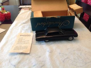 Promo.  Ford Thunderbird Radio Car And Box