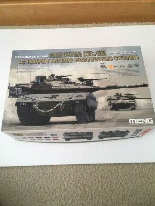 1/35th Scale Merkava Mk.  4m By Meng With Photoetched Parts