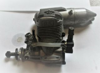 Os.  40 La With Muffler R/c Control Line Model Airplane Engine