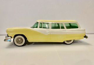 1956 Ford Country Sedan Wagon 2 - Tone Dealer Promo Model Friction Car