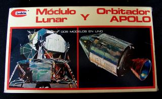 Revell/lodela Apollo Lunar And Command Module 1/96 Rh - 9022