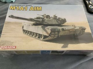 1/35 Dragon Dml M1a1 Abrams Aim 3535