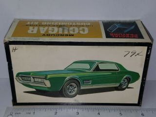 1/43 Amt Mini Trophy Mercury Cougar Unsealed Model Kit