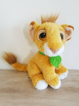 1993 Authentic Simba Lion King Plush Teddy