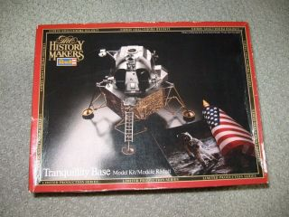 Revell Monogram History Makers 1/48 Eagle Lander Moon Landing Tranquility Base