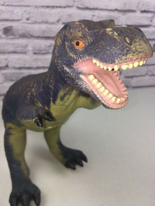 """23"""" Large T - Rex Soft Rubber Dinosaur Toy Major Trading Co Animal Planet"""