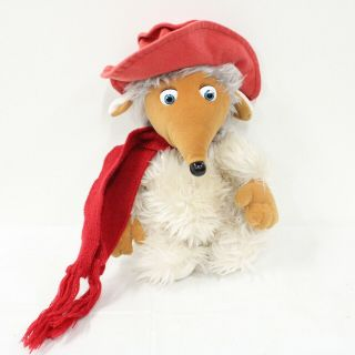 Wombles Plush Red Scarfed Toy 27cm Tall 405