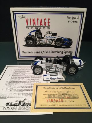 Gmp Parnelli Jones 1:18 Fike Plumbing Special Vintage Spring Car 7602