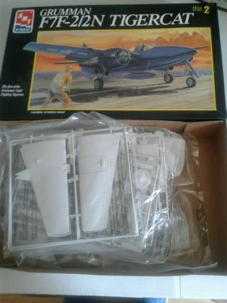 Amt F7f - 2/2n Tigercat With 1/48