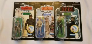 Star Wars Vintage Hasbro Luke Hoth Bespin & Jedi Knight Outfit