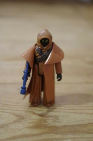 Vintage Star Wars Anh Vinyl Cape Jawa Made In Hong Kong Kenner