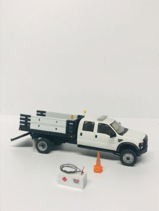 Ho 1/87 Scale Custom Ford F550 Truck Rps Herpa Athearn Walthers