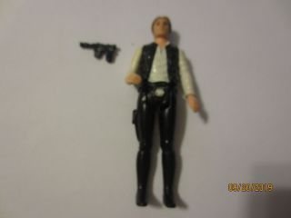 Vintage Star Wars 1977 Han Solo Small Head Variant Complete Figure