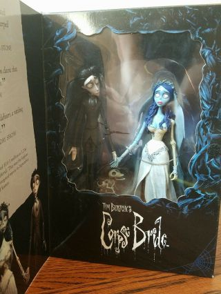 Vtg Mcfarlane Corpse Bride Dvd Commemorative Action Figure 2 Pack Victor Bride