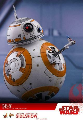 Hot Toys The Last Jedi Bb - 8 Sixth Scale From Sideshow Collectibles