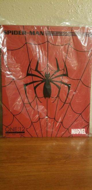 Mezco One:12 Collective Classic Spider - Man Marvel