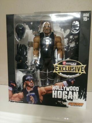 Wwe Mattel Storm Collectibles Hollywood Hulk Hogan Nwo Ringside Exclusive
