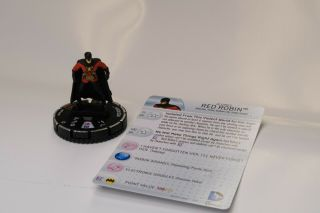 Dc Heroclix Kingdom Come Red Robin Convention Exclusive Dp16 - 002