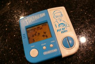 Grandstand Pit Of Peril Vintage Electronic Handheld Video Game And Watch ✨rare✨