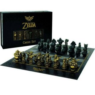 The Legend Of Zelda Custom Chess Set